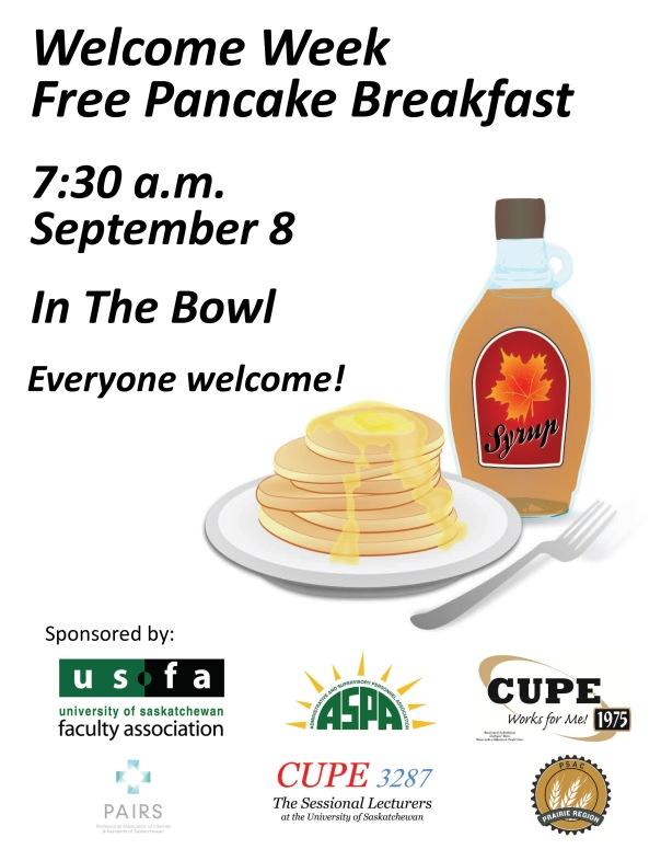 Pancake Breakfast Poster-Flyer