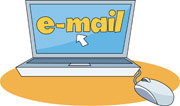 sending email fron laptop